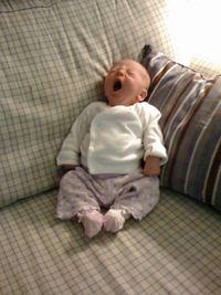 Molly yawn 2